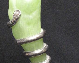 Vintage Signed Elena Hand Made German Design Figural Vase