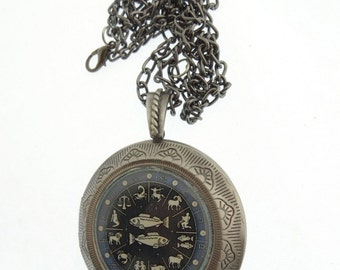 Pisces Locket & Gift Box, Astrology Locket, Necklace, Pisces Necklace, Pisces Jewellery, Locket, Jewelry, Star, Neptune, Jewellery, Jewelry