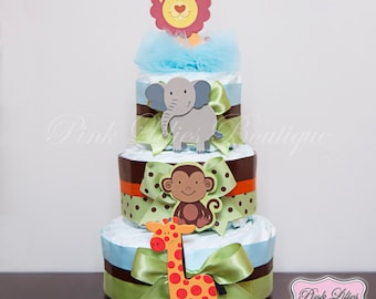 Baby Shower Ideas For Boys Decorations Jungle