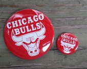 Chicago Bulls 1- or 2.25-inch pinback button