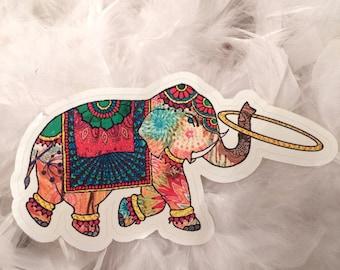 Elephant Hooper Vinyl Decal