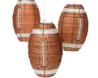 Football Lanterns/ football party / party lanterns