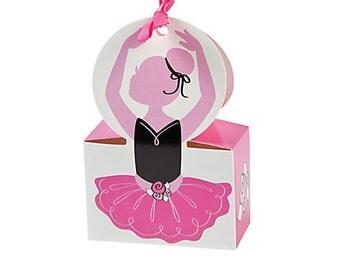 Ballerina Favor Boxes
