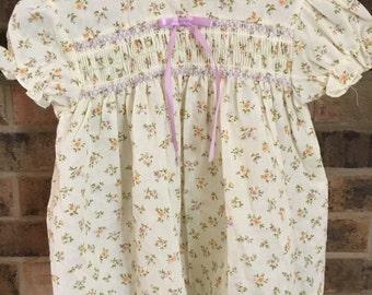 Vintage Baby Girl Spring Dress