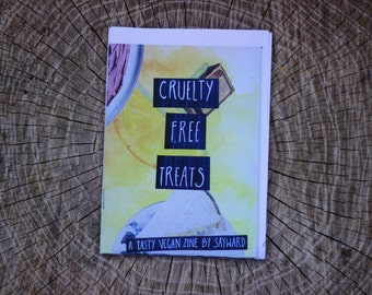 CRUELTY FREE TREATS zine