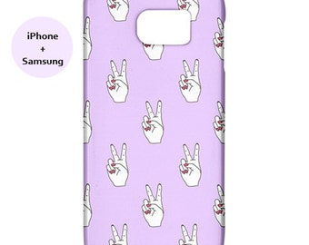 Peace iphone case,eye,peace,hipster,galaxy s5,samsung case,case,s6,iphone,5s,iphone,iphone 6,s5,90's,90s,case,purple,pop art,6s,urban,street
