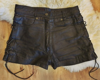 Rare Breed vintage leather shorts