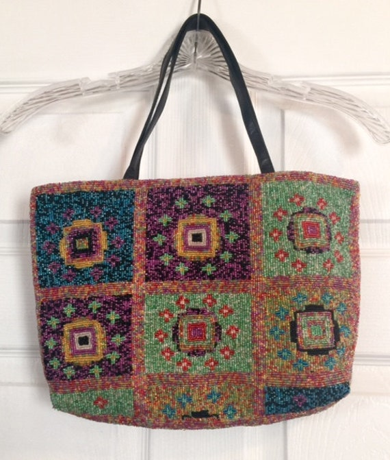 7230a072ef5f Christiana Beaded Handbags | Stanford Center for Opportunity Policy ...