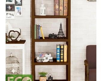 Tool Free Assembly 5 Tier Storage Shelf - Kensington Eco Friendly Bookcase by Way Basics