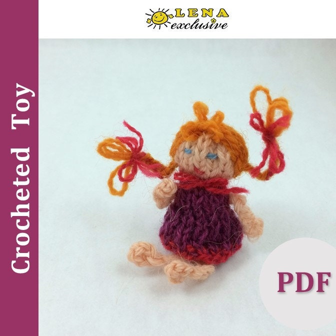PDF Knitting Amigurumi PATTERN. Knitting Tutorial. 18 Inch
