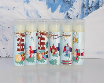 Boys snowboarding  Party Favors, Snowboarding, Ski Party  Personalized Set of 6