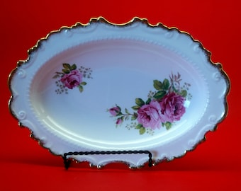 Royal Albert American Beauty Relish Dish