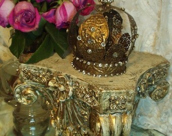 Vintage Style Our Lady of Fatima Crown 1800s Replica