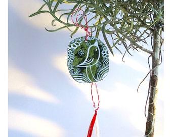 Martisor, Decorative - Folk Bird, Traditional, Handmade, Spring Charm