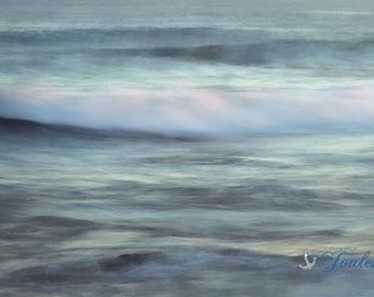 Limited Edition ~ Moonlight Waves ~ Watch Hill, Westerly, Rhode Island, Fine Art Canvas, Artwork, Coastal, Fine Art Photography, Art, Joules