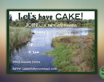 Digital Birthday Invitation