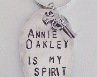 Annie Oakley Is My Spirit Animal, Spoon Key Fob