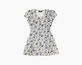 Vintage 90's All That Jazz Rosette Sweetheart Dress