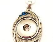 Snap Jewelry  Pendant Nec...