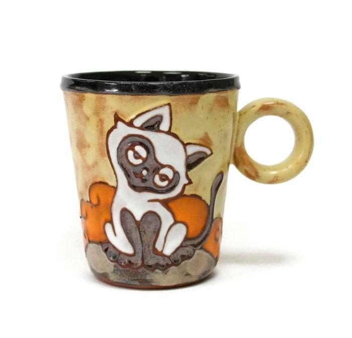 Cat Coffee Mug Tea Mug Cute Cat Coffee Mug Funny Mug Cat