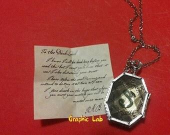 Harry Potter Slytherin Horcrux Locket of Potion