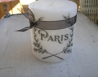 NEW! Paris candle, Art Deco, Art Nouveau
