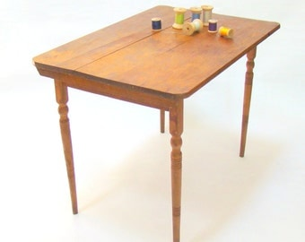 Children's Sewing Table; Folding Sewing Table; Small Tailor's Table; Kids Craft Room; Craft Table; Folding Table; Wood Table; Side Table