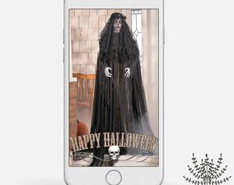 Halloween Snapchat Geofilter, Halloween geofilter, Spooky Snapchat filter, snapchat geofilter for halloween, INSTANT DOWNLOAD
