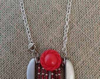 Belt Buckle Necklace