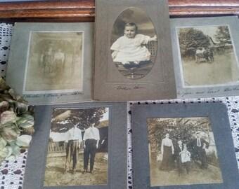 Antique Family Photos Collection