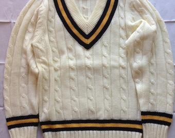 Original Gray-Nicolls Cricket Sweater/Pullover (Size S, US size XS)