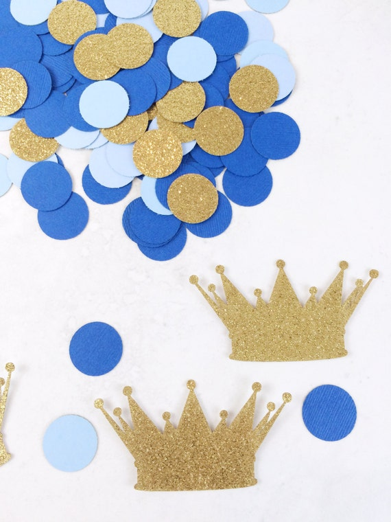 royal prince baby shower decorations crown confetti baby boy birthday decorations prince confetti gold glitter prince shower from