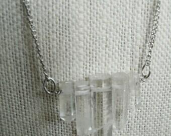 Quartz Crystals Necklace