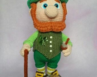 Paddy the Leprechaun St. Patricksday