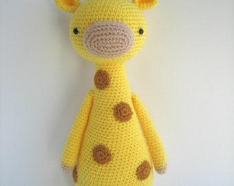 Crochet Amigurumi Pattern - Giraffe