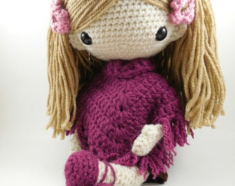 Lydia - Amigurumi Doll Crochet Pattern PDF