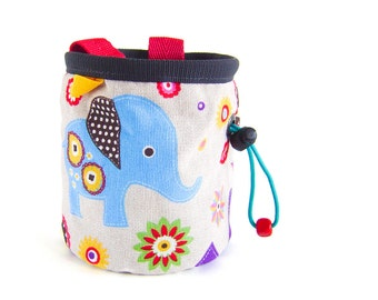 Small Chalk Bag, Rock Climbing Kids, Chalk Bag Children, Kids Chalk Bucket, S Size