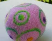 Wool felt ball toy