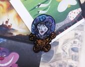 Disney Pin - Fortune Teller Brooch- Crystal Ball Pin - Madame Leota Haunted Mansion Brooch - Shrink Plastic Inspired by Disney Brooch