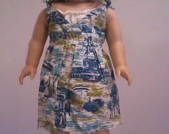 American Girl Doll Sundress