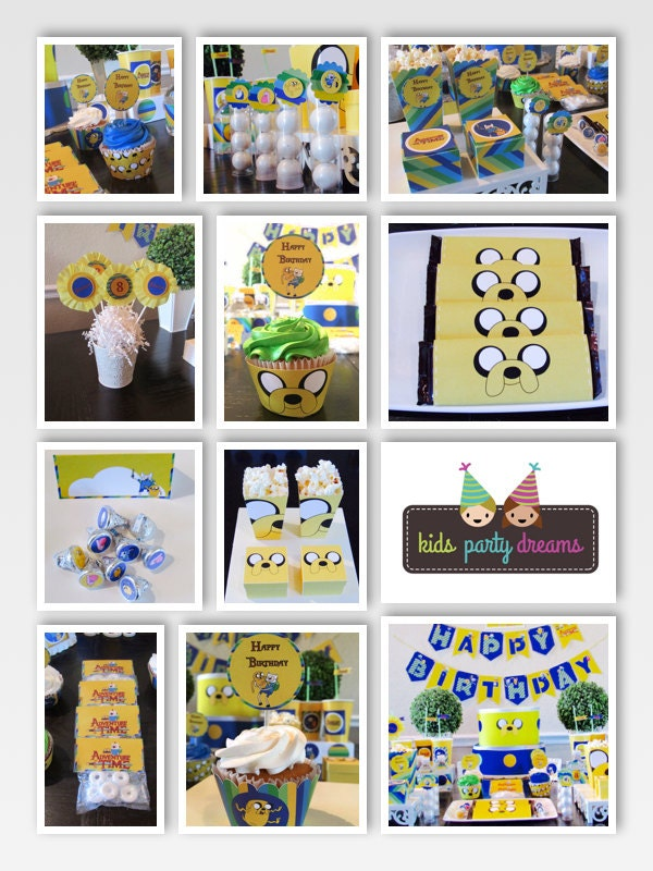 Adventure Time Birthday Party Adventure Time Party