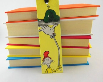 Recycled Book Mark | Bookmark Quotes | Dr Seuss | Stay-Put Bookmark | Gift for Book Lover | Recycled Bookmark | Teacher Gift | Gift under 10