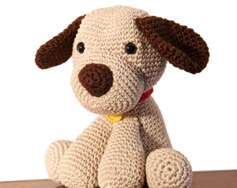 Doggy Amigurumi//Hand made soft toy with crochet//Perfect Present for children