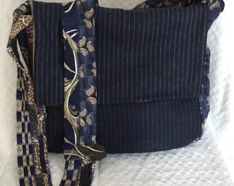 Necktie Crossbody Handbag