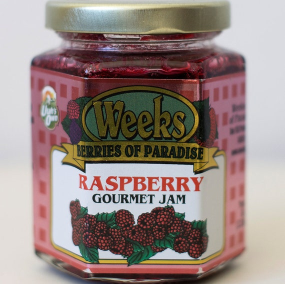 All Natural, Organic, Gourmet, Raspberry Jam - Utah's Own, Preserves, Jelly, Marmalade