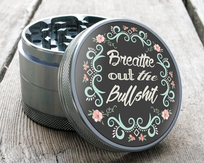 Herb Grinder Breathe 2.5 Custom Grinder TOTEM™ By