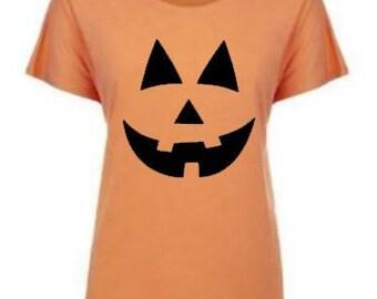Pumpkin Shirt,  Halloween shirt, Jack O Lantern shirt