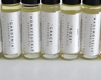 Perfume Oil, Natural Perfume, Essential Oils, and Fragrances, Choose Scent