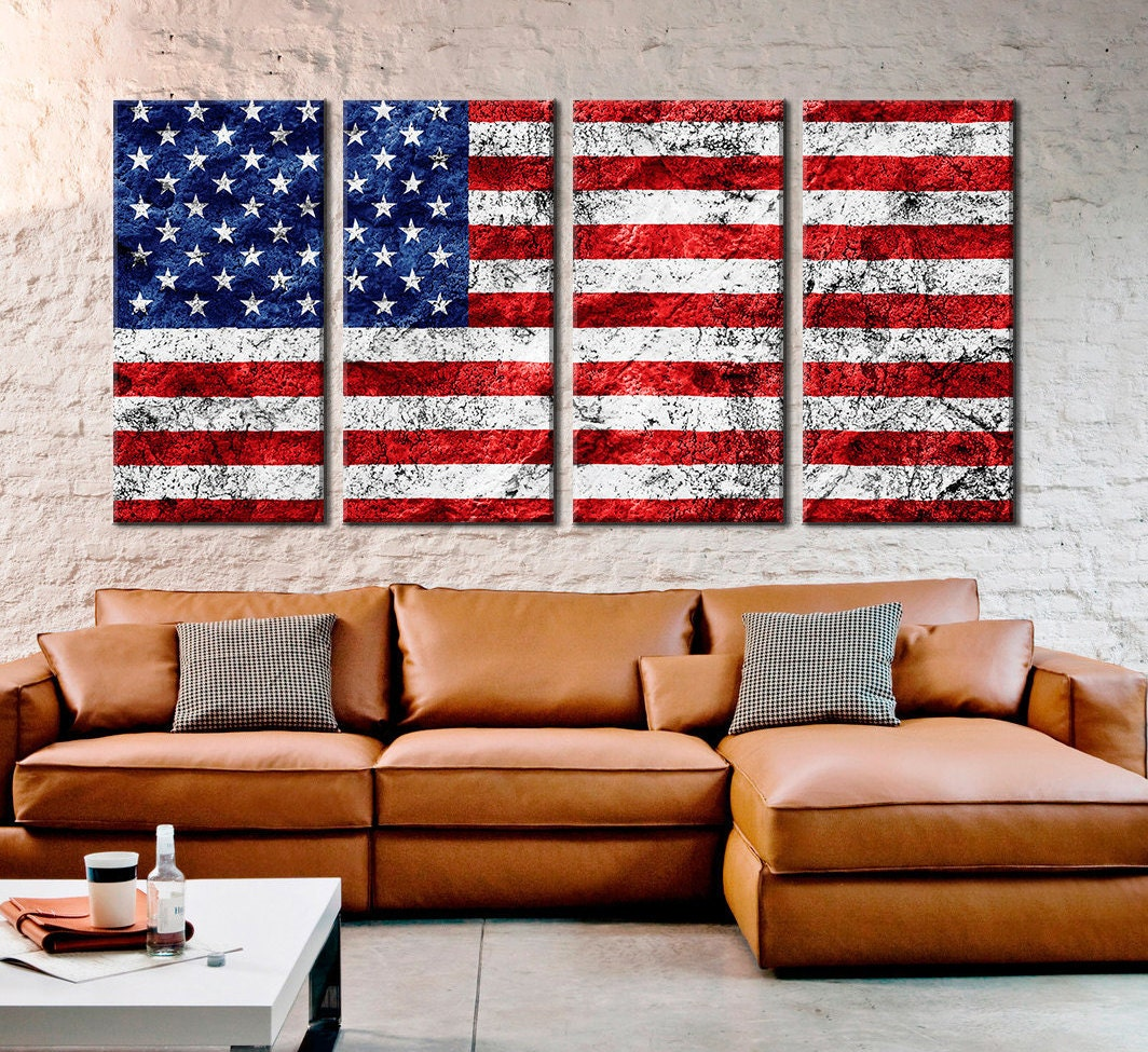 American Home Decorators: American United States Usa Flag/ Home Decor Large 3 Or 5