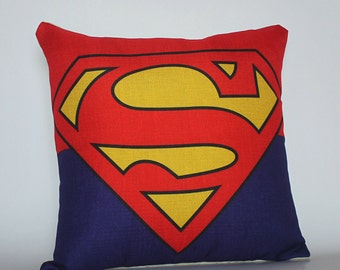 Superman Pillow cover, Superheroes pillow cases, The Avenger Pillow Cases, Cushion Covers, Decorative Pillows, Home decor Throw Pillow Cases